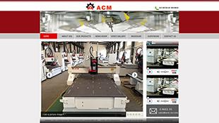 ACM机械英文网站电脑图片
