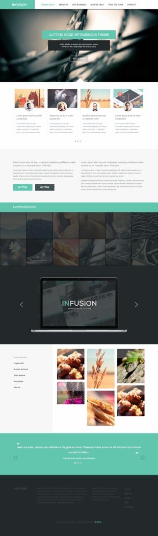 设计介绍类英文模板网站建设电脑图片