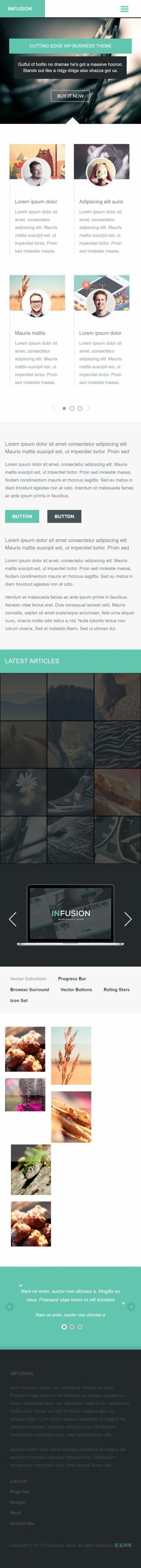设计介绍类英文模板网站建设手机图片