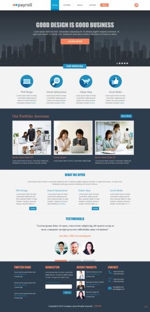 一般企业官网英文模板网站制作电脑图片