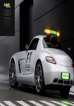 汽车维修类英文模板网站手机图片
