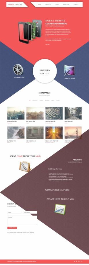 高端设计类英文网站建设模板响应式网站电脑图片