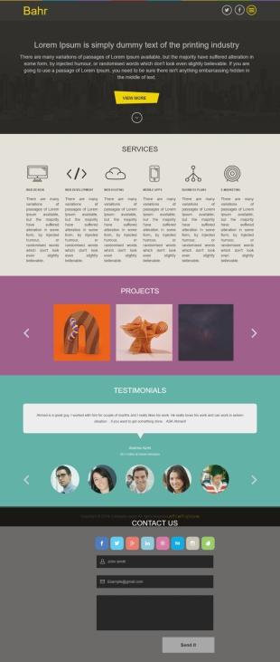设计印刷类英文网站建设模板响应式网站电脑图片