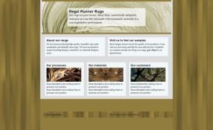 单页艺术设计类英文模板网站电脑图片