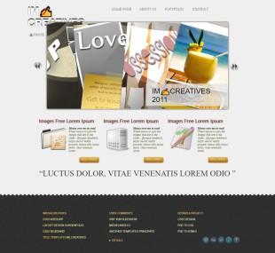 高端网站设计类英文模板制作电脑图片