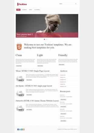 时尚网站类英文模板网站建设电脑图片