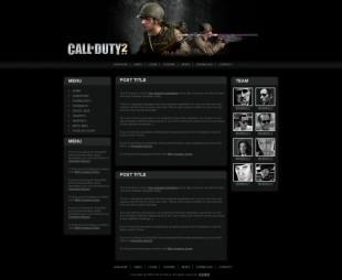 template英文网站模板电脑图片