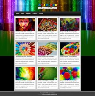 Free Basic Html5 Responsive Template英文模板网站电脑图片