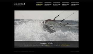 Gallerised英文模板网站电脑图片