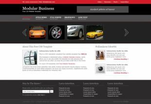 汽车英文模板网站电脑图片