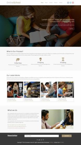 出国留学签证办理公司英文网站建设模板电脑图片