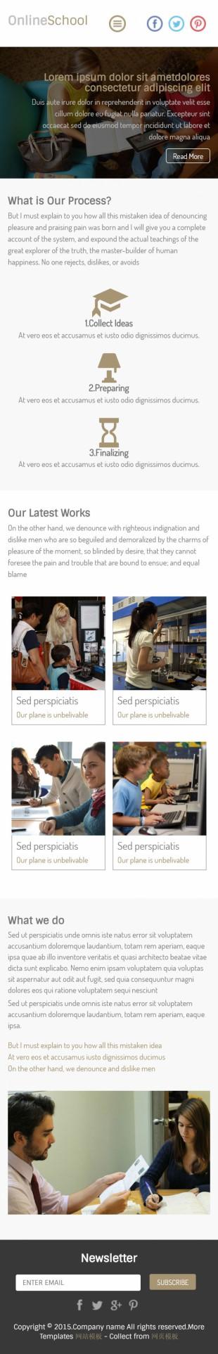 出国留学签证办理公司英文网站建设模板手机图片