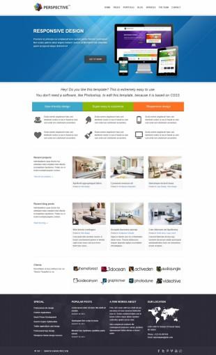 家具类英文网站模板制作电脑图片