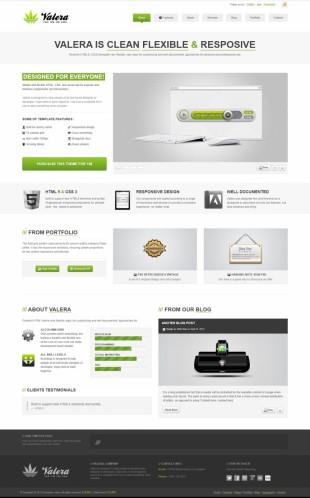 科技产品展示官网英文网站制作模板电脑图片