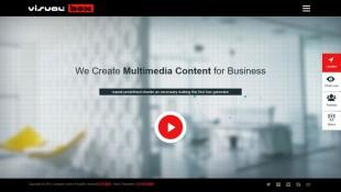 3D影视动画制作公司响应式英文企业模板制作电脑图片