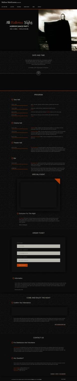 黑色宽屏大气单页跳转企业英文模板网站建设响应式网站电脑图片