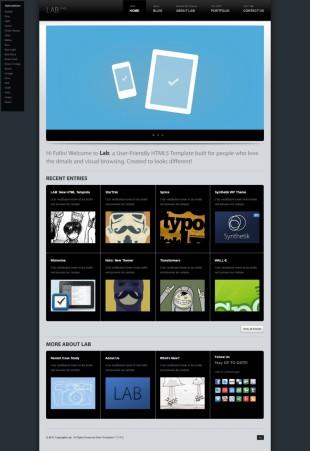 黑色漂亮动漫插画设计企业整站英文模板网站制作电脑图片