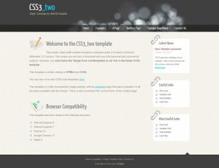 黑色星光背景标准英文博客英文网站制作模板电脑图片