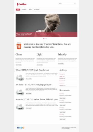 红灰配色极简线条个人博客首页英文网站制作模板电脑图片